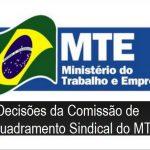 Comissão de enquadramento sindical do MTE apresenta decisão sobre embalagens flexíveis