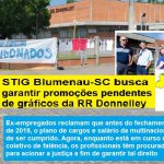 STIG Blumenau-SC busca garantir as promoções pendentes de gráficos da RR Donnelley