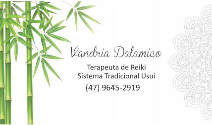 VANDRIA DALAMICO - Terapeuta Reiki
